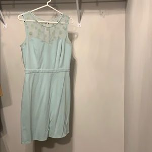 Lauren Conrad mint green cocktail dress
